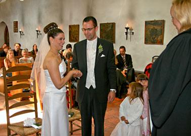 Hochzeitsfotografie, kirchliche Trauung