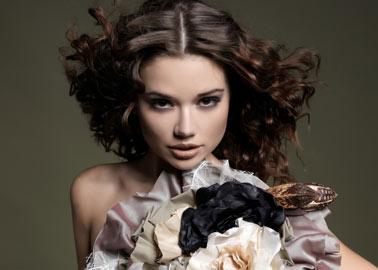 Perfekt gestylt mit Make-up